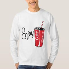 Coca-Cola | Enjoy Coca-Cola Cup T-Shirt - tap, personalize, buy right now!