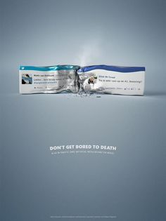 """BBC TopGear Magazine: Road Safety - Crash """"Don't get bored to death, no social media behind the wheel' Clever Advertising, Print Advertising, Advertising Agency, Visual Advertising, Dont Text And Drive, Boring To Death, Funny Commercials, Funny Ads, Commercial Ads"""