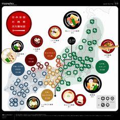 日本全国お雑煮文化圏地図