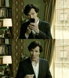 """""""Delete it"""" I say setting my book down. """"Delete what"""" he asks. """"Sherlock I know you took a picture now delete it please"""" I begged and he just me a innocent look. """"Me? A picture, babe I would never"""" I cross your arms over my chest and stare him down. """"Come on, I took it cause you look beautiful"""" he said and kissed my forehead hugging you close to him. (Credit to PJ Welker, I need someone to be Sherlock.)"""