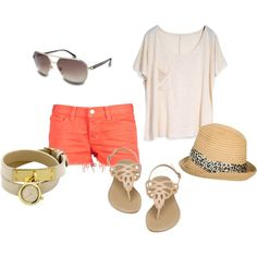 Summer, created by amvillanueva on Polyvore