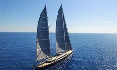 70m superyacht Sybaris sets sail for Monaco