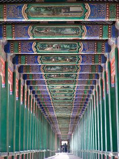 Summer Palace Beijing - China  Awesome color..... can take that as inspiration…