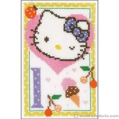 Hello kitty lettre l