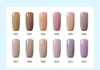 10ml Nude Style UV nail gel home lacquer CND Nagellack Varnish Polish Trend Coffee camel Color salon polish for bridal makeup