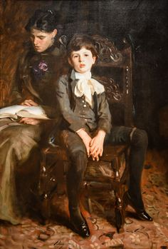 John Singer Sargent - Portrait of a Boy, 1890 at Carnegie Museum of Art - Pittsburgh PA