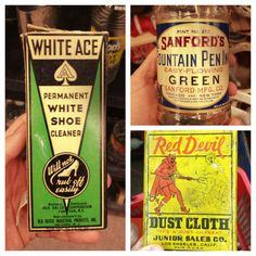 Get your shoes white! Those were the days...! Vintage packaging