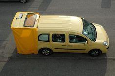 Applications aimants - Installer une tente de voiture avec des aimants - supermagnete.fr