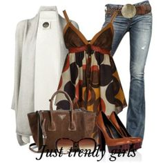 Earthy tones summer outfits | Just Trendy Girls