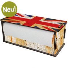 Werkhaus Shop - Küchenrollenbox - Union Jack