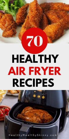 Air Fryer Healthy Recipes For All Meals - Healthy.- Air Fryer Healthy Recipes For All Meals – Healthy Wealthy Skinny Air Fryer Recipes Air Fryer Dinner Recipes, Air Fryer Oven Recipes, Healthy Dinner Recipes, Healthy Dinner Meals, Slow Cooking, Easy Cooking, Cooking Recipes, Cooking Games, Healthy Cooking