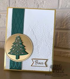 Stampin Up Christmas, Christmas Cards To Make, Plaid Christmas, Xmas Cards, Holiday Cards, Stampinup Christmas Cards, Card Making Inspiration, Making Ideas, Stampin Up Weihnachten