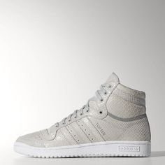 adidas Top Ten Hi Shoes - White | adidas US