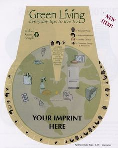 green living wheel to help reduce your environmental footprint  @TakeOutWithOut
