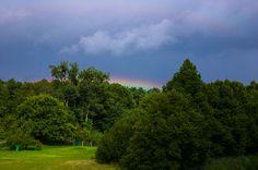 Rainbow on the horizon