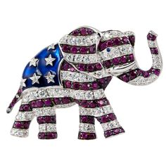 1stdibs - GOP Elephant Pin explore items from 1,700  global dealers at 1stdibs.com