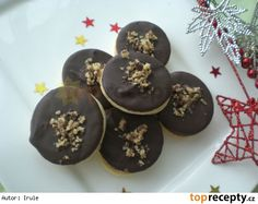 Margotková kolečka Christmas Sweets, Christmas Candy, Christmas Baking, Baking Recipes, Cookie Recipes, Czech Recipes, Meringue Cookies, Holiday Cookies, Graham Crackers