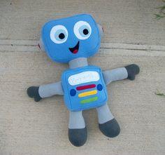 Grande Robot Huggable su ordinazione di HuggableFriends su Etsy
