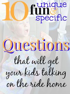 10 Specific Questions to ask Kids about School (IMO the list of ten questions were great with my kindergartener. Haven't got the e book, and probably wouldn't read it, but the list got me thinking in a good way.)