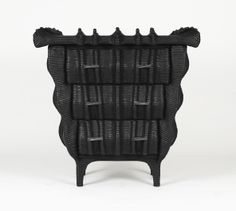 Christian Astuguevieille Mitik Commode was inspired by the natural undulation of shells and striations of minerals.
