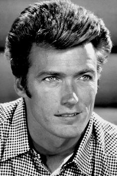Rowdy Yates (Clint Eastwood) in Rawhide. I watched this as a child because my dad really loved Westerns (wild west movies) and I loved spending time with my dad!:) ~DLP