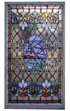 Antique Stained Glass, Beveled Glass, Custom stained Glass - Wooden Nickel Antiques, Cincinnati Ohio