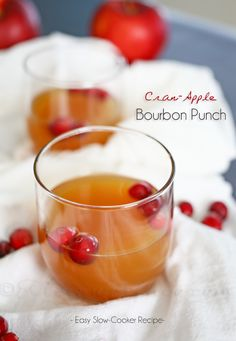 Cran-Apple Bourbon Punch