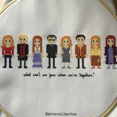 Buffy the Vampire Slayer - Once More With Feeling Cross stitch. #btvscollector #btvs #buffy #buffythevampireslayer