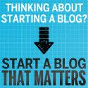Start A Blog That Matters - If you'd ask me for the best book about how to start a profitable blog, it would be this one. Corbett Barr is an expert when it comes to successful blogging.