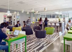 Cloud Computing Offices & Amenities