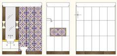 Construindo um Castelinho: Paginação dos banheiros - Parte 2