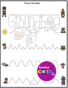 This is a Groundhog Day unit bundle that includes differentiated, themed worksheets/activities which incorporate math, literacy, writing, fine motor, and visual perceptual skills. These activities can be used for centers, small group therapy sessions or classroom.