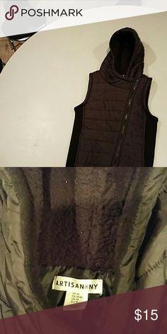 Jacket vest Black. Great condition worn once Jackets & Coats Vests