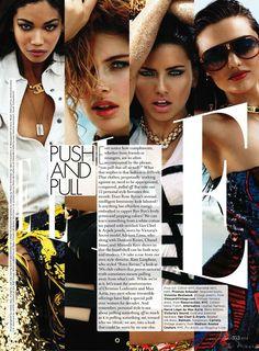 #Chanel Iman#Doutzen Kroes#Adriana Lima#Miranda Kerr