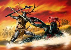"""Battle of the Trident - """"Rhaegar fought valiantly, Rhaegar fought nobly, Rhaegar fought honorably. And Rhaegar died"""""""