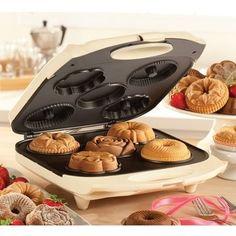 Máquina para fazer mini bolos decorados