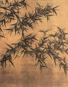Bamboo painting by Wen Tong (1018 - 1079)