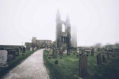 #graveyard #cemetery #scotland #standrews
