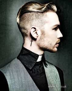 2014 mens undercut smooth wave on top - Hairstyle Gallery