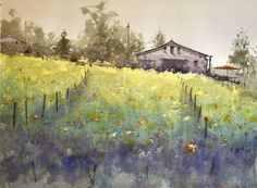1000 images about daniel marshall watercolor on pinterest for Paint and wine temecula