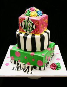 sweet+16+birthday+cakes+for+girls | Sweet 16 Cakes – Decoration Ideas