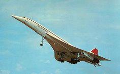 British Airways Concorde which was in service from 1976 until 2003