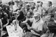 It's rumored that the Mojito was invented at La Bodeguita del Medio in Havana, Cuba, where Hemingway drank them.