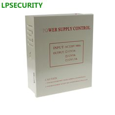 check price lpsecurity access control power supply with box 12v 5a support backup battery remote #electric #door #strike