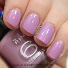 Rimmel Sweet Lavender 60 Seconds Nail Polish | Review & Swatches