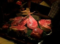 """Charlie's Steak House - """"Tray of Meat"""""""