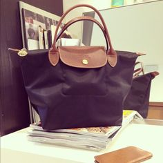 A black Longchamp goes with everything