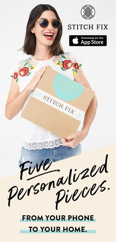 Ready for a Fix? Take a detailed Style Quiz and tell Stitch Fix about your style, fit and price preferences. Schedule your Fix and a personal stylist will curate five pieces for you to try on at home. Buy what you love and send back the rest in a free USPS return envelope. It could not be easier!