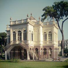 Pabellón Morisco en el Parque de la Exposición en el Centro Histórico de Lima. Fotografía por María Antonia Villegas.