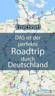Der Amerikaner Randy Olson hat sich darauf spezialisiert, mittels eines Computer-Algorithmus die effektivsten Autorouten für verschiedene Länder und Kontinente zu errechnen. Nachdem seine Roadtrips für die USA und Europa um die Welt gingen, hat Olson nun exklusiv für TRAVELBOOK die perfekte Route durch Deutschland kalkuliert. Sie führt vorbei an 50 der schönsten Attraktionen im Land.   Roadtrip Ideen auf deutsch